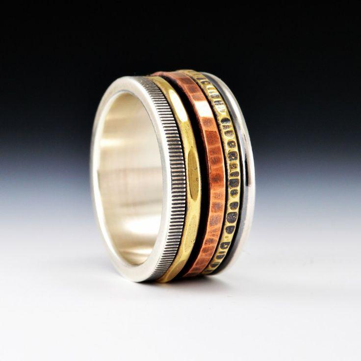 19 best Spinner Rings images on Pinterest