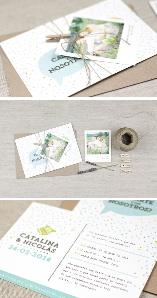 ProjectPartyStudio Invitacion Boda polaroid