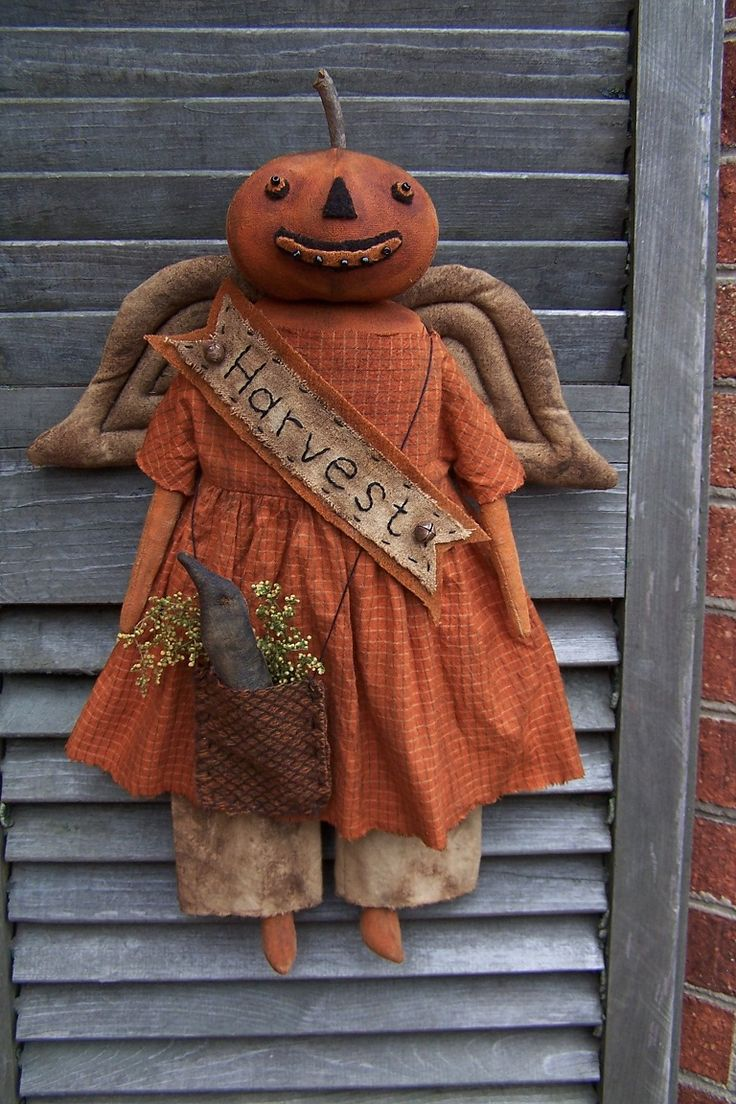 277 best Wonderful Creations, by talented folks images on Pinterest - Primitive Halloween Decor