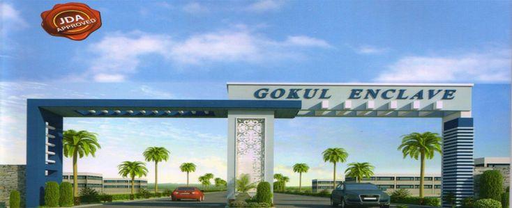 Gokul Enclave Jaipur Jda Approved Plot for Sale Daulatpura Near SEZ Ajmer Road Jaipur