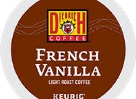 Diedrich Coffee French Vanilla Light Roast K Cups 24ct
