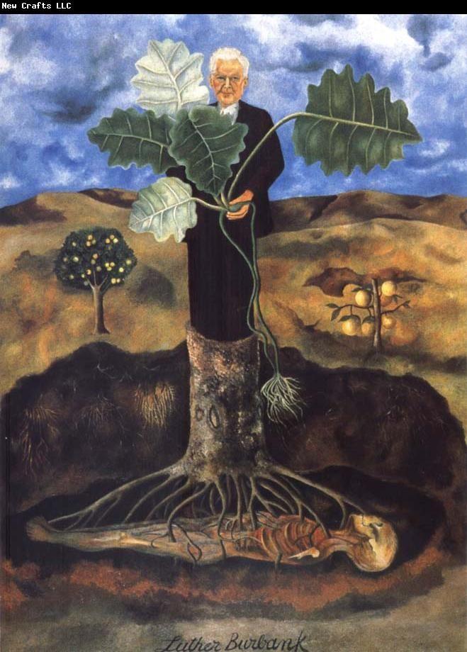 Frida Kahlo Portrait of Luther Burbank