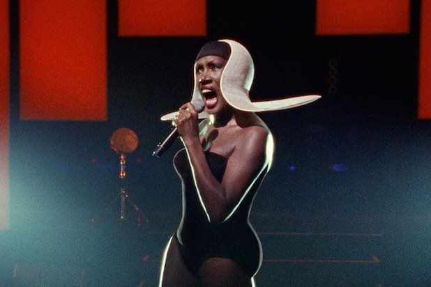 'Grace Jones: Bloodlight and Bami' Gives Toronto a Big Dose of Disco Diva  Sophie Fiennes' fragmented portrait is an art-doc, not a standard music film — which is pretty much what its subject deserves