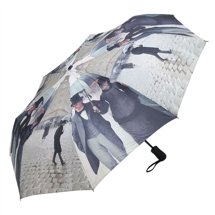 Paris Street, Rainy Day, Compact Umbrella
