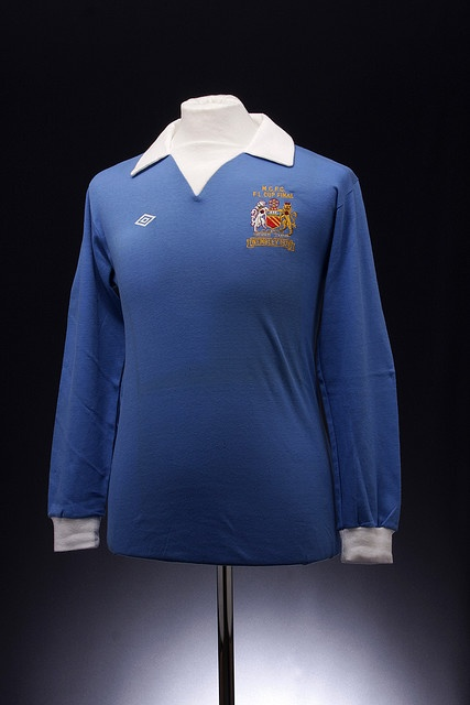 Manchester City League Cup Final 1976 Football Shirt