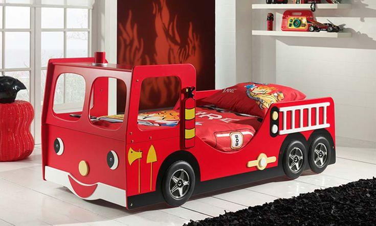 Lit Camion Pompier - La rentrée des classes #rentréedesclasses #backtoschool #vastiaugodeau