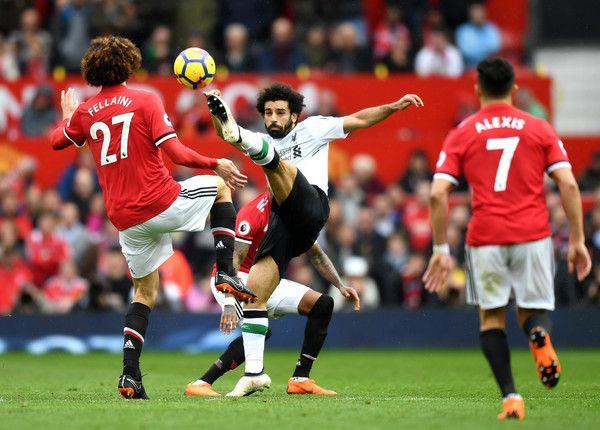 Mohamed Salah Photos Photos Manchester United V Liverpool Premier League Liverpool Premier League Manchester United Mohamed Salah