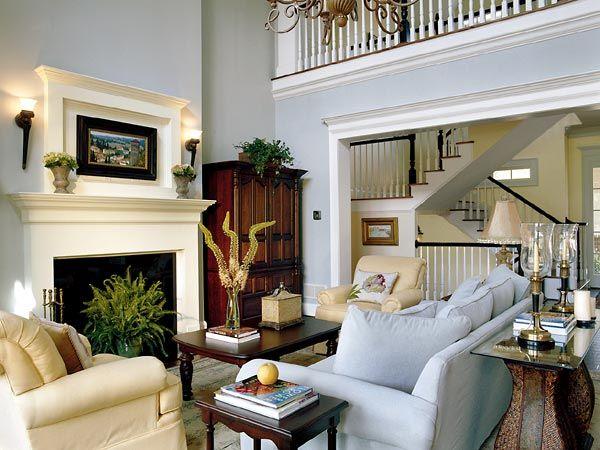 Southern Living Rooms ile ilgili Pinterest\'teki en iyi 25\'den ...
