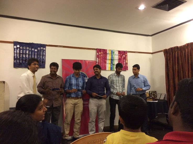 Won best table topic speaker ribbon at CTM Club Chennai on 20th Dec 2015