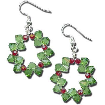 Winter Holiday & Christmas Jewelry Tutorials | Free DIY Jewelry Projects | www.rings-things.com