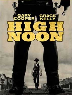 High Noon (1952), starring Gary Cooper and Grace Kelly.