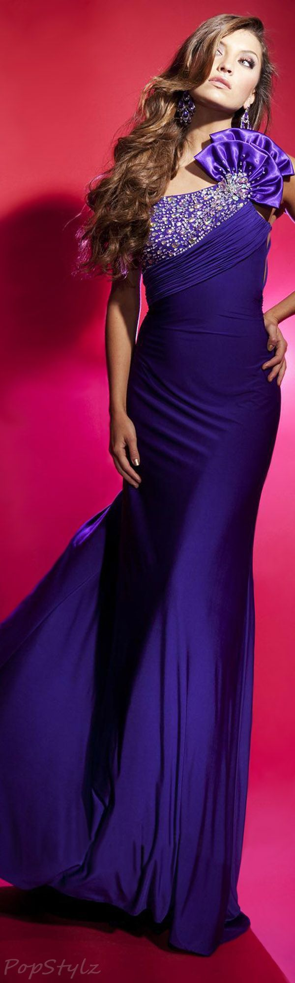 Best 10+ Purple evening gowns ideas on Pinterest | Purple gowns ...