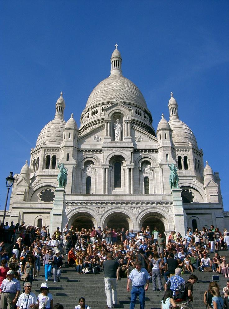 Mont Martre Church, Paris France