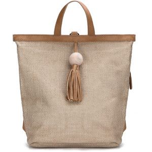 Yoins Straw-Woven Backpack with Tassel Embellished