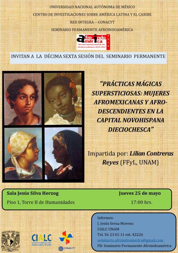 SEMINARIO SOBRE ASPECTOS CULTURALES DE PUEBLOS AFROINDOAMERICANOS