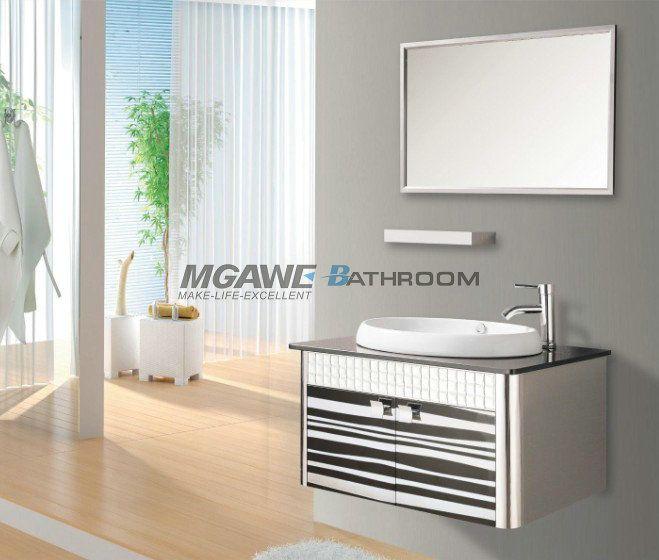 Photo Album Gallery Hangzhou MGAWE Sanitary Ware Co Ltd provide the reliable quality stainless steel bathroom vanities