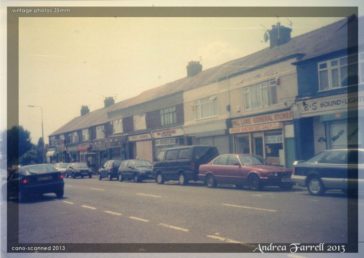 The Old Shops of Mill Lane.