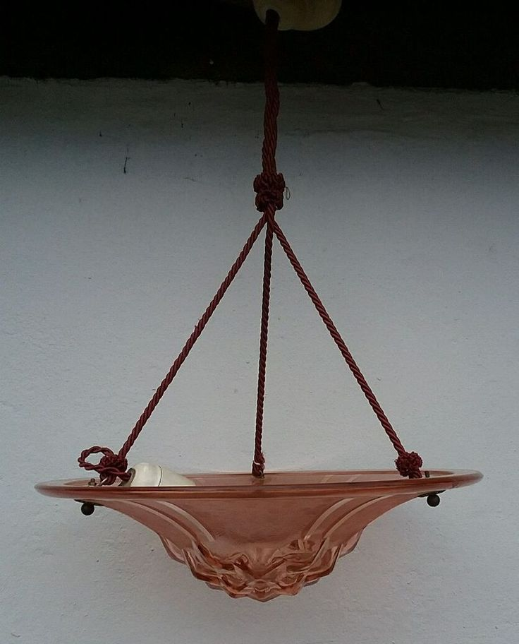 Lampe Jugendstil lamp light Art- nouveau Deckenlampe antik  true vintage Boho   | eBay
