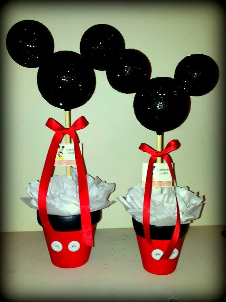 17 best images about centros de mesa on pinterest mesas for Mesa de cumpleanos de mickey