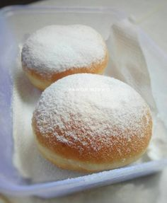 Donat empuk,ekonomis. Killer soft bread 1x proofing