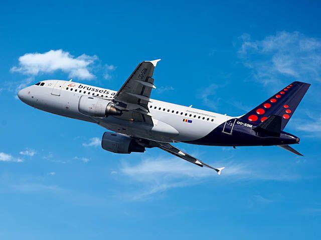 Brussels Airlines part à Palma de Majorque