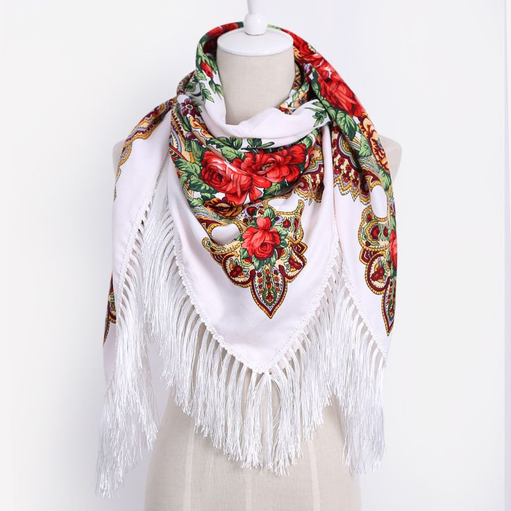 Slavic Flower Pattern Scarf //Price: $15.62 & FREE Shipping //     {#ethnic #fashion #style #traditional |#indian #beautiful #unique| #love #shopping | #ethnicwear #etnik |#vintage #dress | #bohochic #indianwear| #art  #hippie |#beauty #fashion | #sale #design |#onlineshopping #accessories | #Indean #Japanese #african