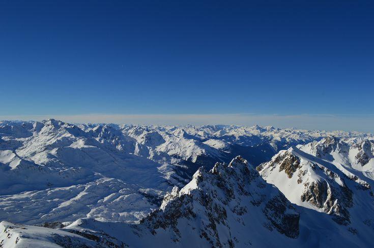 Valluga - Taken off the top of the Valluga in St. Anton am Arlberg, Austria