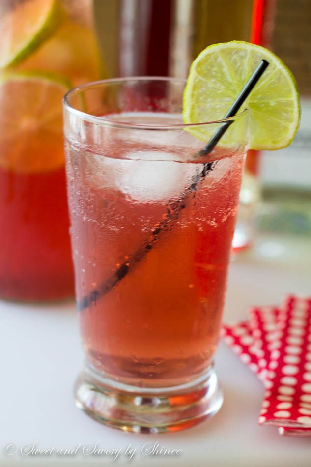 Crowd-pleasing and refreshing cranberry ginger ale punch is effortless, yet delicious drink to serve at your next party. ~Sweet and Savory by Shinee