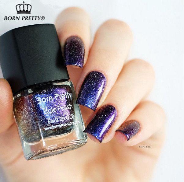 1 шт. 6 мл Born Pretty лак для ногтей хамелеон лак для ногтей цвет # 31 звездное лак для ногтей (Черный Основной Цвет Необходимости) # 24880