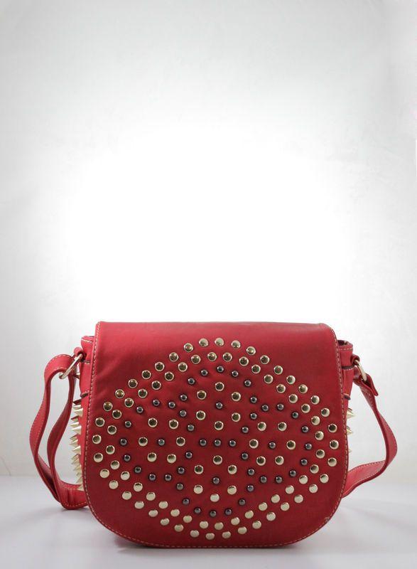 Armeno Studded Crossbody Bag