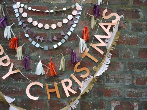 Zuzu decorations pack available in our Christmas shop! Inspired by It's A Wonderful Life  Luxury handmade paper decor by Paper Street Dolls  Check out our store - paperstreetdolls.etsy.com