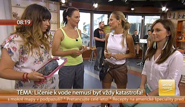Myslíte si, že v lete sa vôbec neoplatí maľovať sa, pretože sa vaša tvár nakoniec aj tak roztečie? Vizážistka Veronika Vargová v Teleráne dokázala pravý opak. Inštruktáž nájdete na http://www.markiza.sk/clanok/aktualne/ako-vyzerat-dokonalo-aj-v-horucavach-lahke-letne-licenie.html