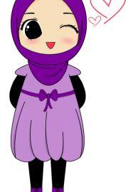 Chibi Drawings (Cute Muslim Characters) - Muslim Manga and Anime Drawings | IslamicArtDB.com | Page 8