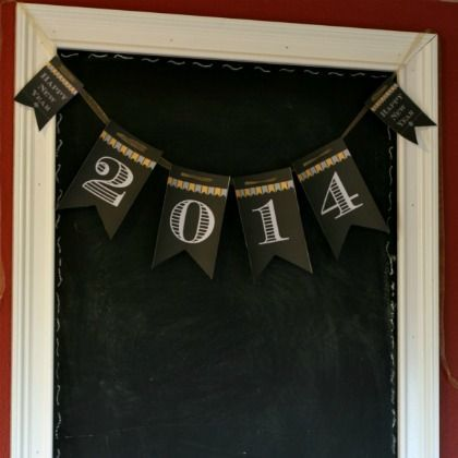 2014 New Years Eve Garlands & Printable Banners