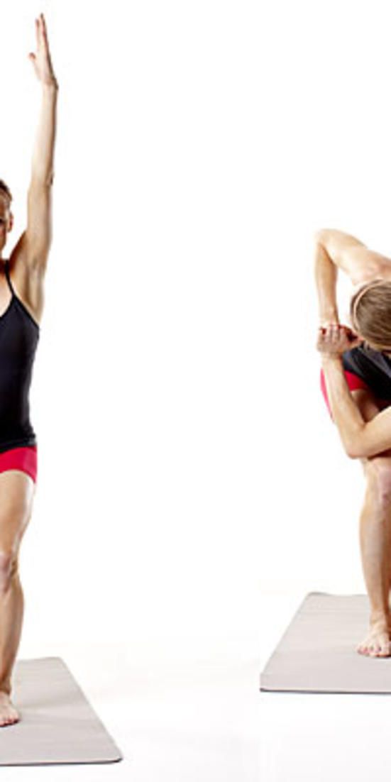 Chair Twist  - These exercises will tighten and slim your lower half