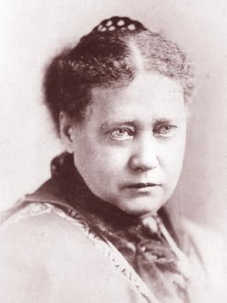 From Russia to India, the great Madame Blavatsky, creator of the theosophical society.