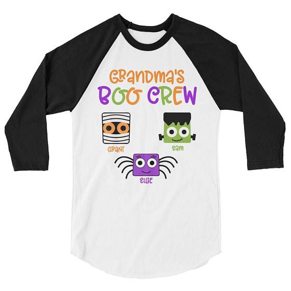 Grandma's Boo Crew Personalize your shirt or sweatshirt