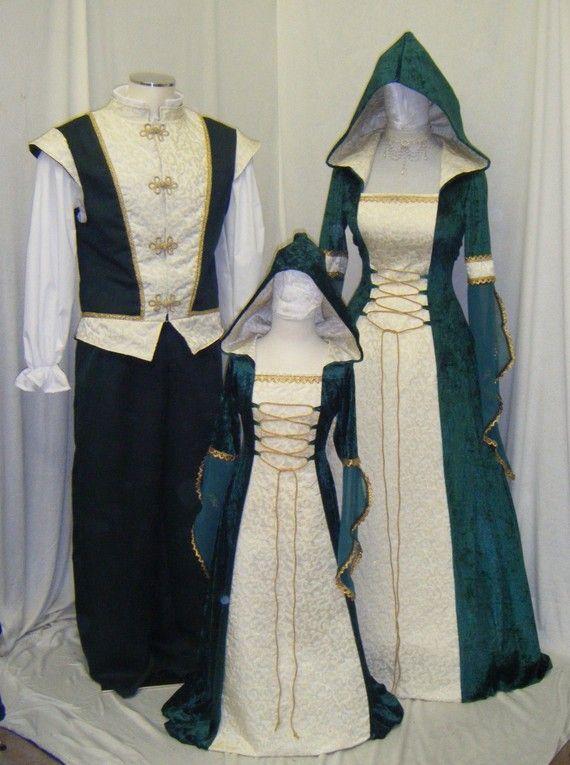 medieval dress Celtic wedding dress Renaissance por camelotcostumes