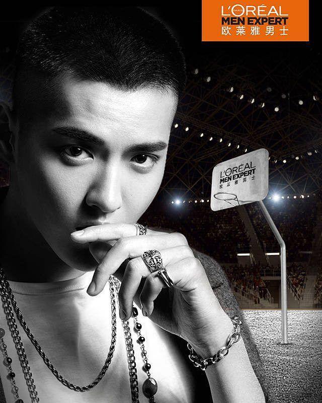"[170330] L'Oréal Men weibo update:    Kris Wu 4/10 ""Stylish Men Arena"" event (in Shanghai)  .  .    #KRIS #WuYiFan #KrisWu #吴亦凡 #凡凡 #크리스 #우이판"