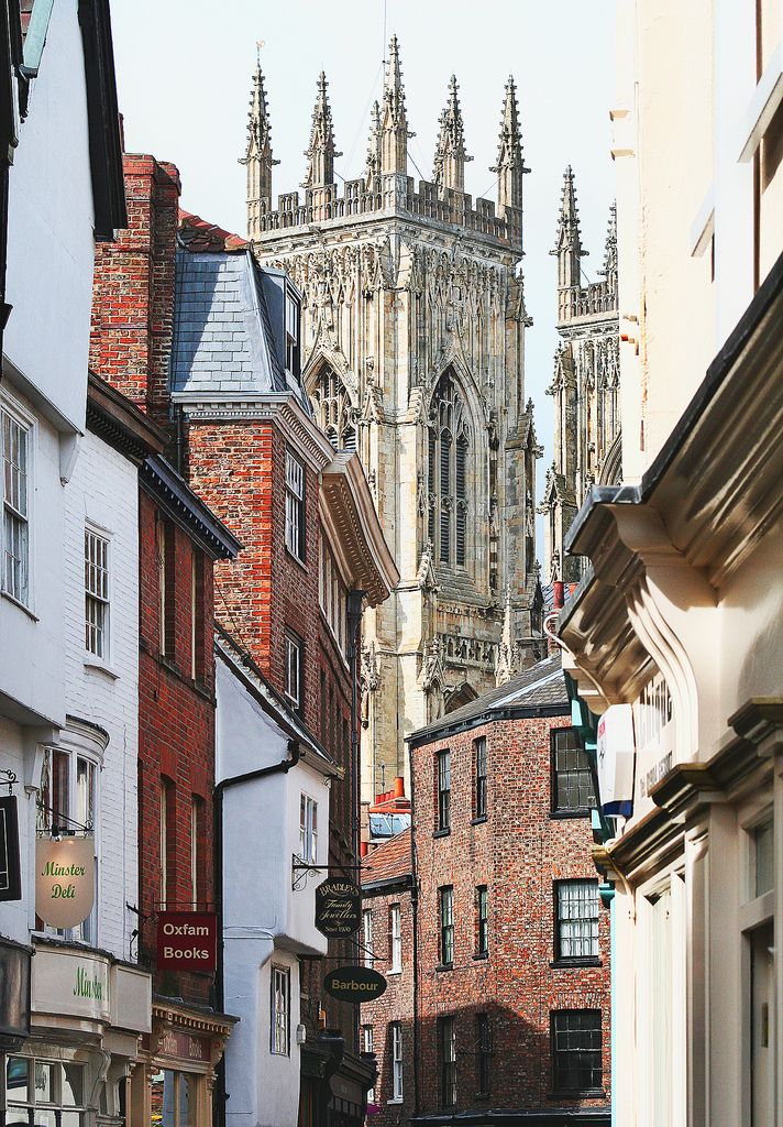 York Minster, York, England-York is by far my favorite city in the North of England.