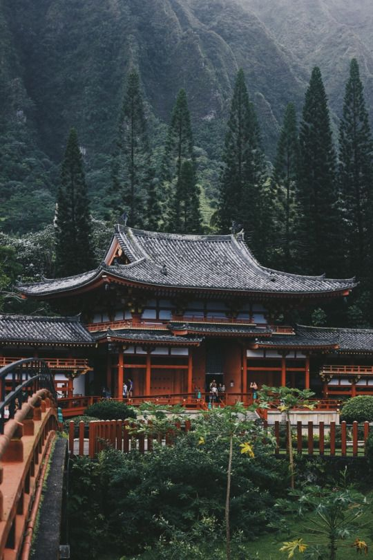 Byodo-In Temple / Japan / #MIZUworld