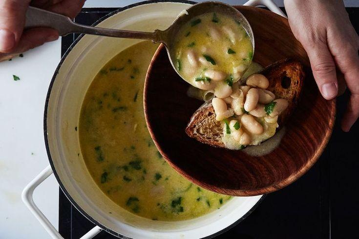 A Genius, Minimalist White Bean Soup from Marcella Hazan