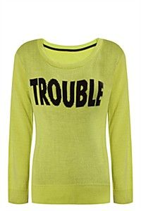 TROUBLE PULLOVER
