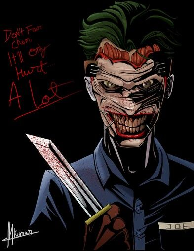 The Joker New 52 By - Mayank94214.deviantart.com #The_Joker #DCcomics #New52 #digitalart #fanart #comics #villians