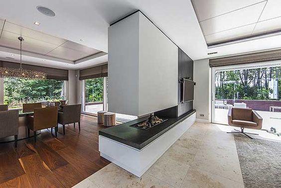 chimeneas-modernas-como-separador-de-espacios: