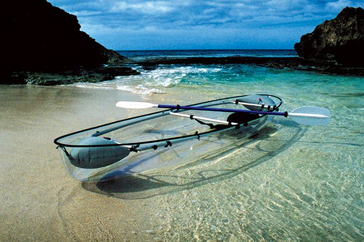 Seattle-based designcompany Clear Blue Hawaii has released an out-of-the-box kayak design that is c...