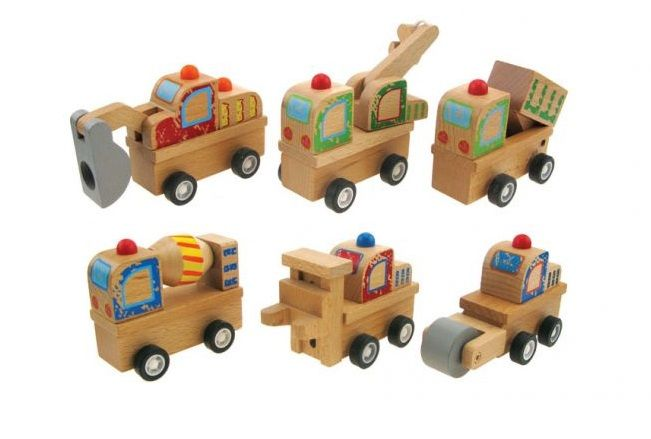Wooden Pull Back Truck - $6.50 These gorgeous Wooden trucks are a big hit at our house Pull back & they zoom away fast!! Available in 6 different vehicles Aprx 10cm long 18mths +