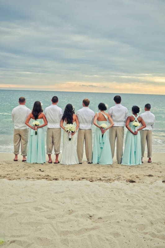 Mexico Puerto Vallarta destination wedding white tan and teal theme wedding colors. Destination wedding photographer based in Dallas Texas