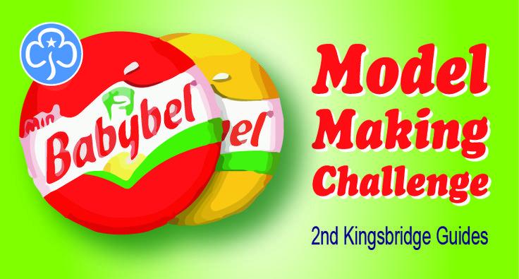 Guides Babybel model challenge Badge