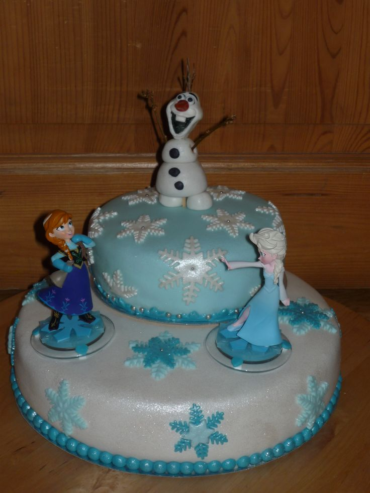 taart frozen  bakken  Pinterest  Frozen